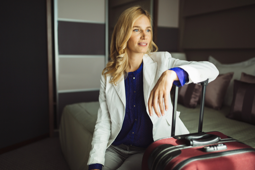 Female Business Travel - Cover Image